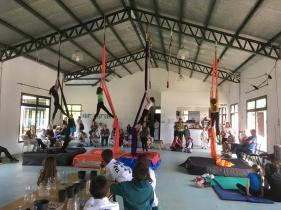 Muestra de los alumnos de Telas
